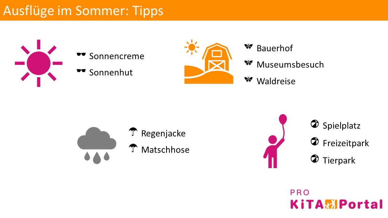 Ausflüge mit Kindern im Sommer, Ideen für einen Kita-Ausflug im Sommer