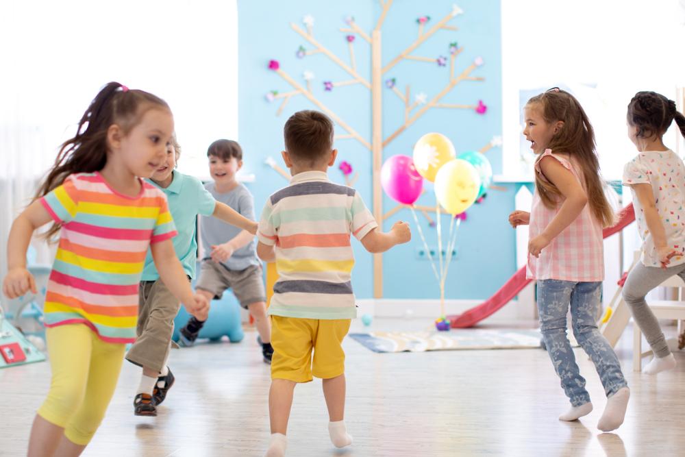 Bewegung und sportliche Ideen für Kinder in der Kita