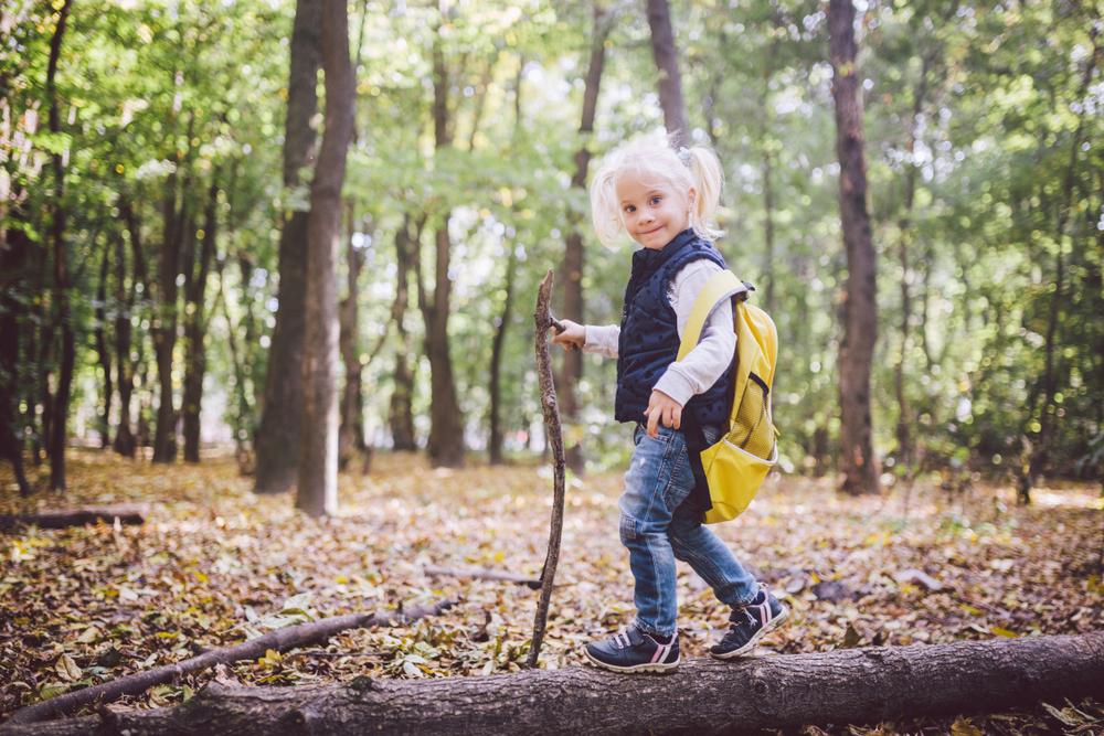Wandern und Ausflüge regen alle Sinne bei Kindern an und stärken ihre Gesundheit.