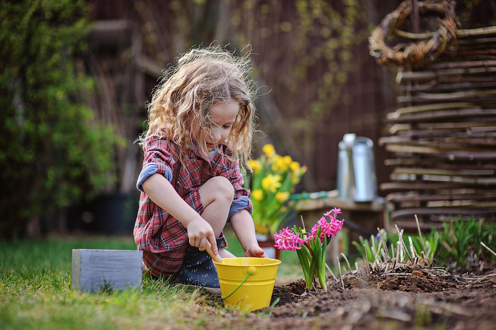 Blumengarten im Kindergarten selber anlegen