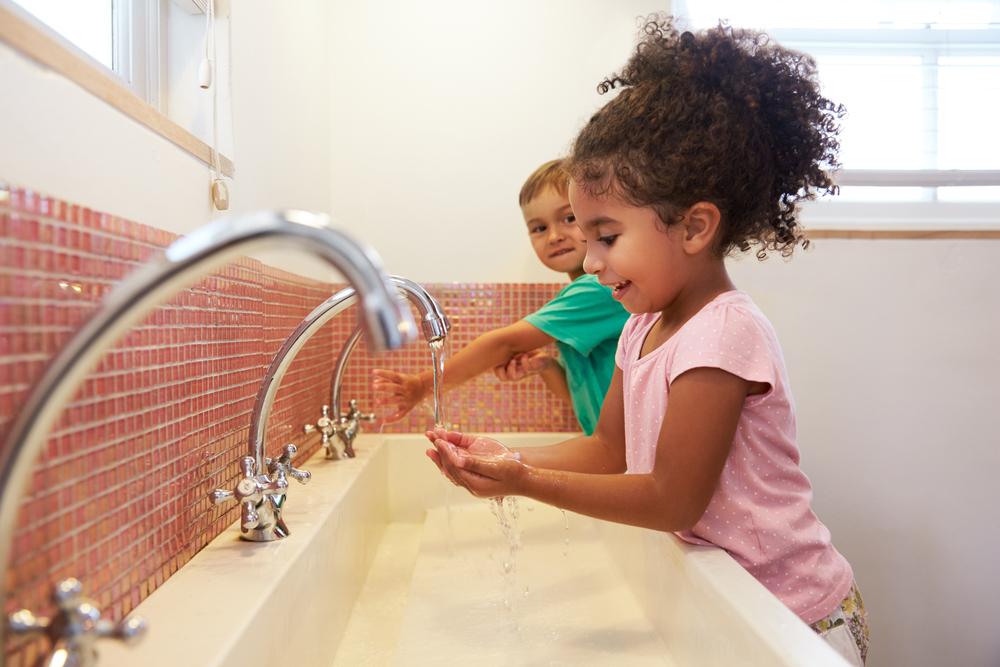 Hygiene ist im Kindergarten besonders wichtig - das schützt vor Krankheiten