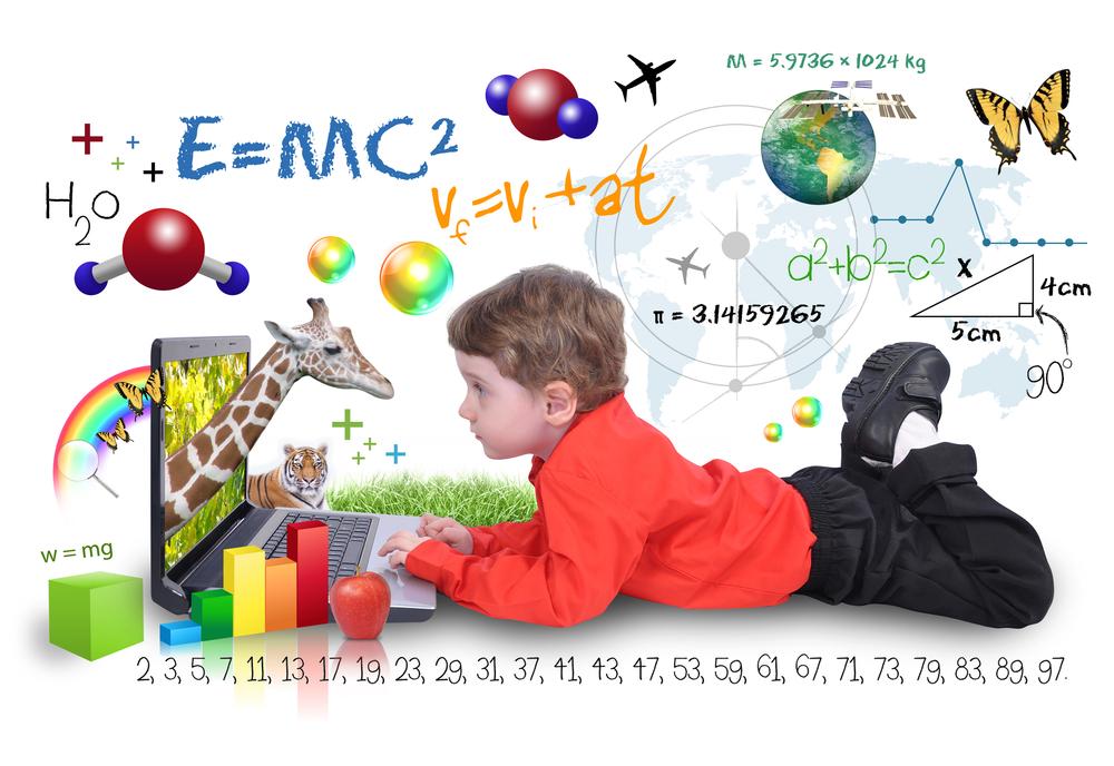 Kinder müssen eine Beziehung zu Zahlen und Formen verbinden können