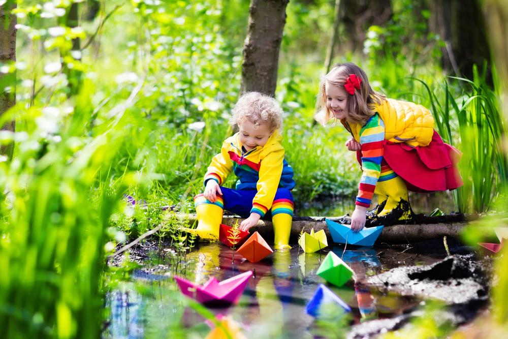 Waldtage im Kindergarten, Aktivitäten im Wald mit Kindern