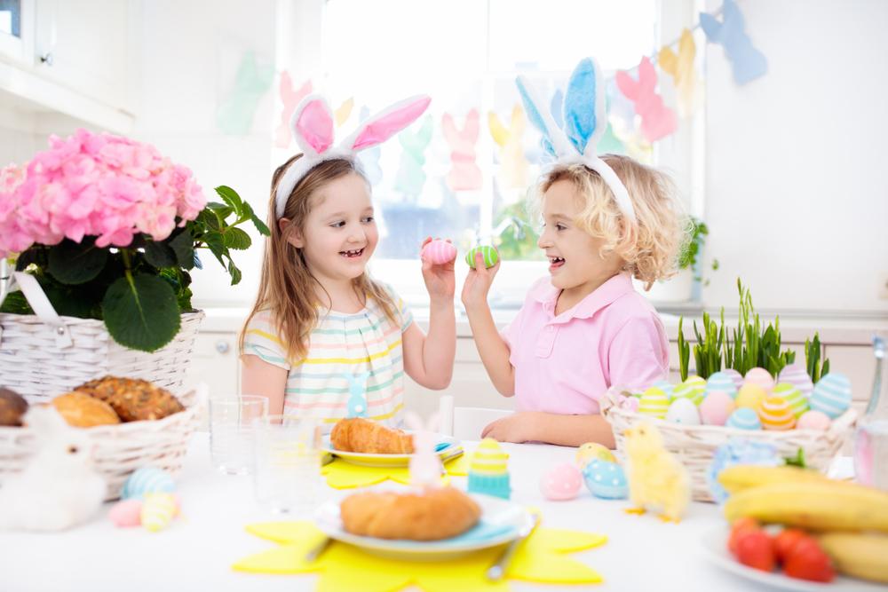 Osterfrühstück im Kindergarten