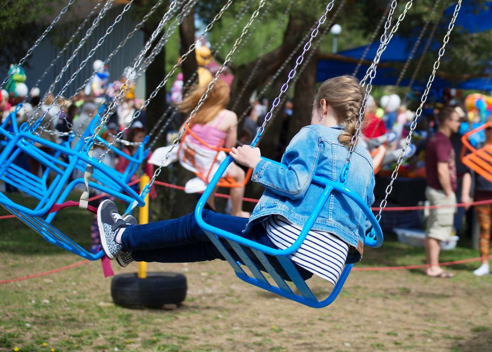 Sommerfest im Freizeitpark mit der Kita