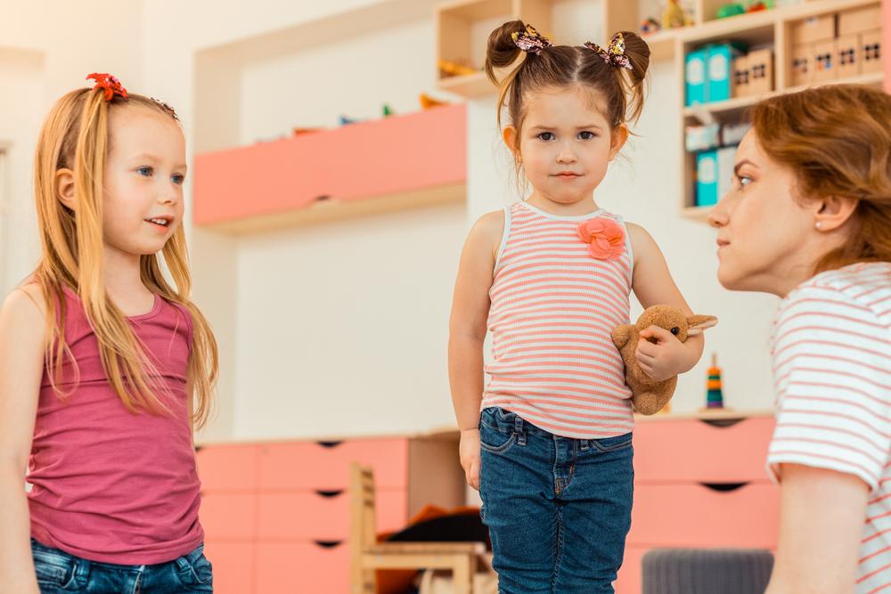 Soziale Kompetenz der Kinder im Kindergarten, Umgang mit Konflikten zwischen Kindern