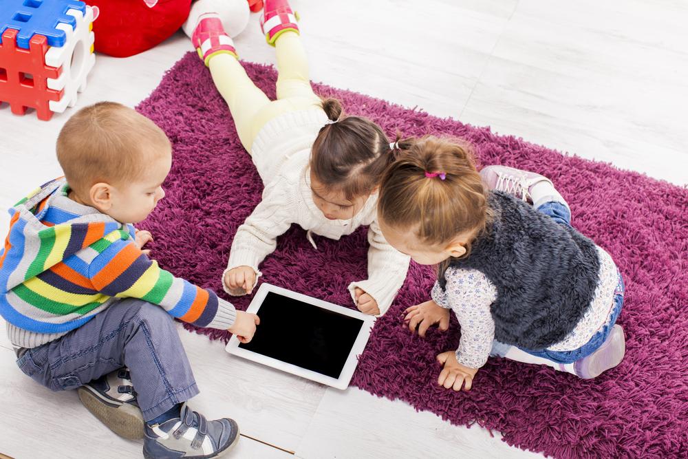 Kindersicherung Tablet, Kinder vor Gefahren mit dem Tablet warnen und schütz, Tablet in der Kita