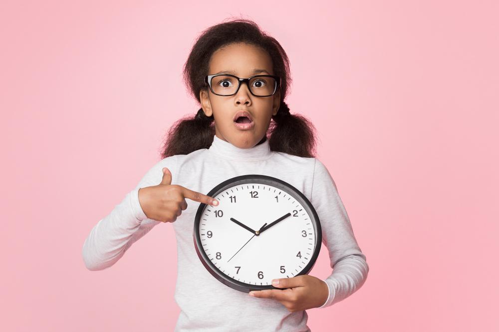 Kinder schon richtiges Zeitmanagement lehren
