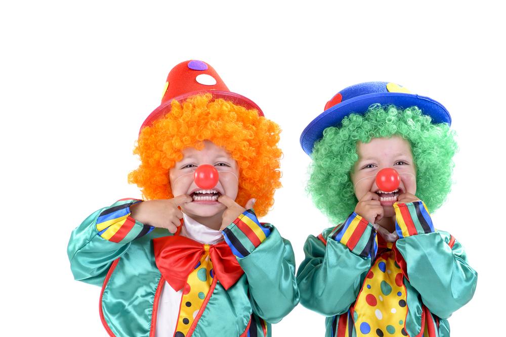 Als Clown im Zirkusprojekt